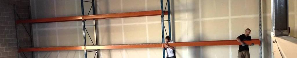 Montování průmyslových regálů Machinery Movers s.r.o.