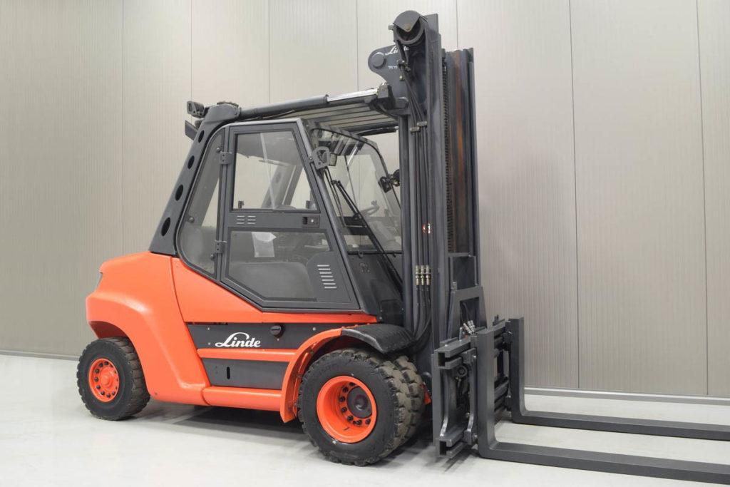 Velkotonážní vysokozdvižný vozík H 80 D/900